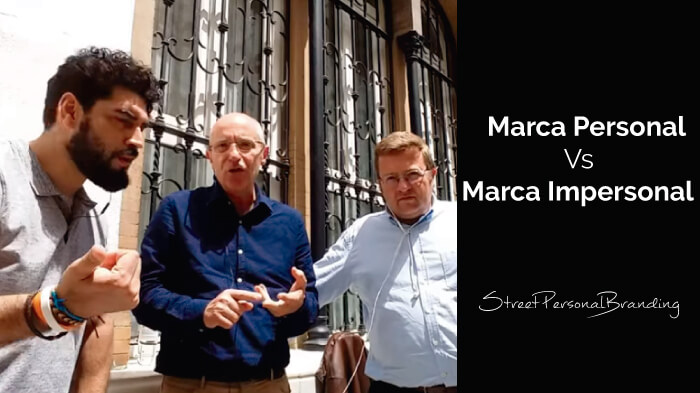 Marca Personal vs marca impersonal