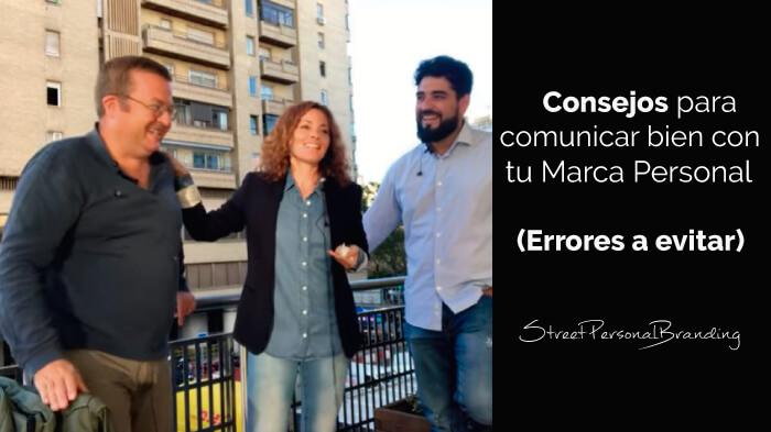 Errores al comunicar con tu marca personal - consejos para comunicar