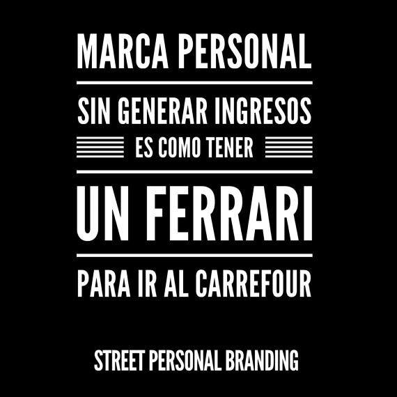 marca personal sin ingresos