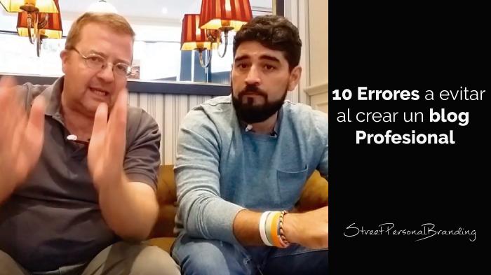 10 errores de un blog que deberías evitar al crear un blog