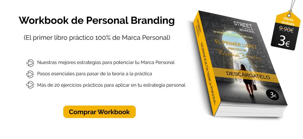libro de personal branding workbook